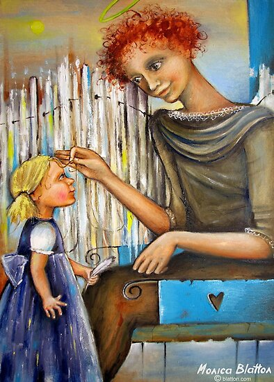 Guardian Angel by Monica Blatton