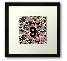 Girls' Generation (SNSD) Taeyeon 'PINK ARMY' Framed Print