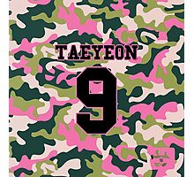 Girls' Generation (SNSD) Taeyeon 'PINK ARMY' Photographic Print