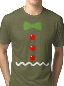 Gingerbread Man Costume Tri-blend T-Shirt