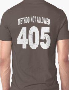Team shirt - 405 Method Not Allowed, white letters T-Shirt