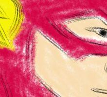 The Flash Sketch Sticker