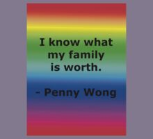 Penny Wong's Family Kids Clothes