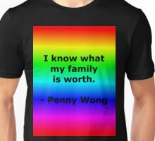 Penny Wong's Family Unisex T-Shirt