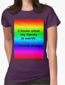Penny Wong's Family Womens Fitted T-Shirt
