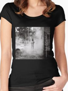 Street Menace Women's Fitted Scoop T-Shirt