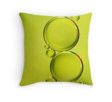 Simply Lime II Throw Pillow