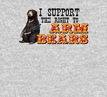 I Support the Right to Arm Bears, Sun Bears. Unisex T-Shirt