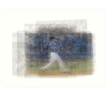 Jose Bautista Swing Bat Flip Art Print