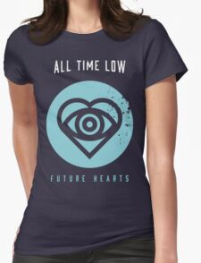ALL TIME LOW SWS SLEEPING WITH SIRENS Future Hearts Tour REY2 Womens Fitted T-Shirt