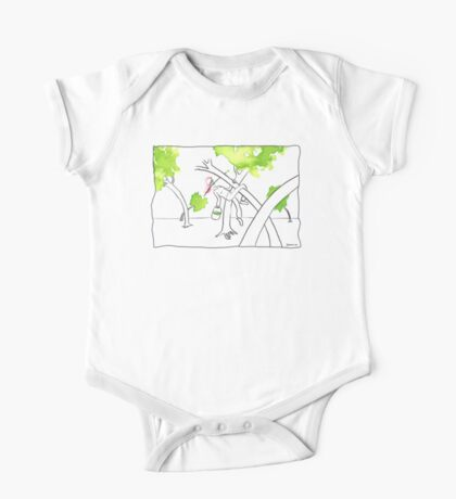 Spring is in the tree One Piece - Short Sleeve