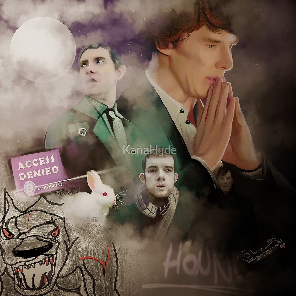 The hounds of Baskerville by KanaHyde