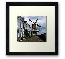 """Molen """"Rijn en Lek"""" ~ Wijk bij Duurstede Framed Print"""