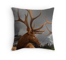 An Elk Affair Throw Pillow