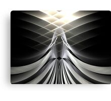 Gray Angel Canvas Print