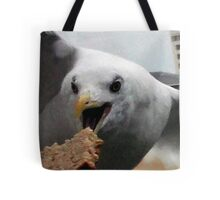 Breading the Gull Tote Bag