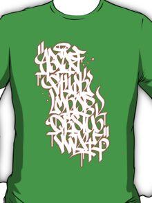 Graffiti Alphabet T-Shirt