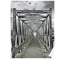 Walk The Plank ~ Newlyn, Cornwall  Poster