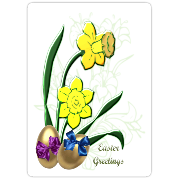 Easter Greetings (3833 Views) by aldona