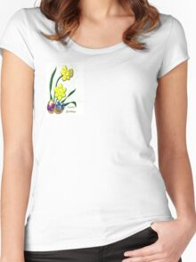 Easter Greetings (3833 Views) Women's Fitted Scoop T-Shirt