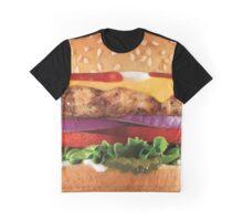 Hamburger Graphic T-Shirt