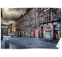 Newcastle Upon Tyne In HDR Poster