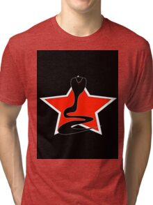 Cobra With Red Star Tri-blend T-Shirt