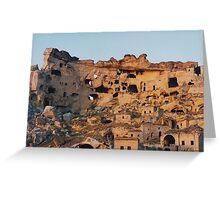 Çavuşin,Cappadocia Greeting Card