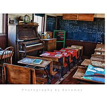 Old Schoolhouse by Photography by Benamoz Ltd.