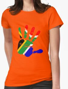 Flag of South Africa Handprint T-Shirt