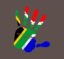 Flag of South Africa Handprint T-Shirt