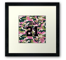 Girls' Generation (SNSD) YURI 'PINK ARMY' Framed Print