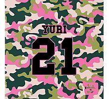 Girls' Generation (SNSD) YURI 'PINK ARMY' Photographic Print