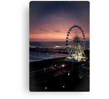 Brighton Nightscape Canvas Print