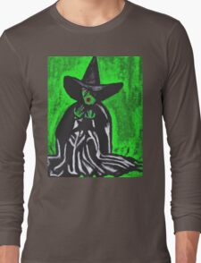 THE MELTING WICKED WITCH  Long Sleeve T-Shirt