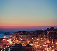 Brighton Cityscape by Erika  Szostak