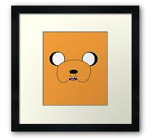 Jake's Face! Framed Print