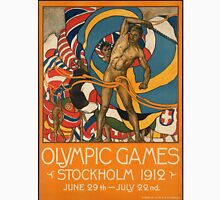 Vintage poster - Olympics 1912 Stockholm Unisex T-Shirt