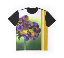 Shades of Frilly Pansy Graphic T-Shirt