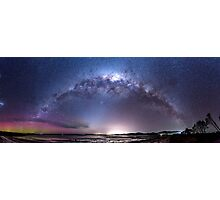 Aurora Australis and Milky Way Photographic Print