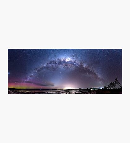 Aurora Australis and Milky Way Photographic Print