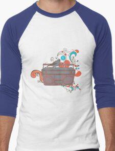 Retro Music Men's Baseball ¾ T-Shirt