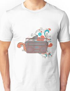 Retro Music Unisex T-Shirt
