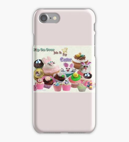 Easter Cup Cakes: Invitation ( 1261 Views) iPhone Case/Skin
