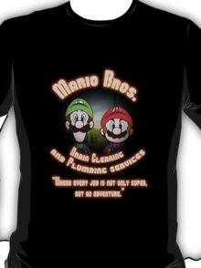 Mario Bros. Drain Cleaning & Plumbing Service T-Shirt