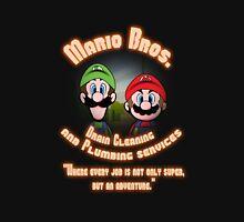 Mario Bros. Drain Cleaning & Plumbing Service Unisex T-Shirt