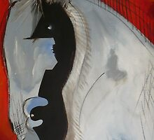 Il Stallone Bianco by Maureen Rocks-Moore