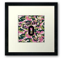 Girls' Generation (SNSD) TIFFANY 'PINK ARMY' Framed Print
