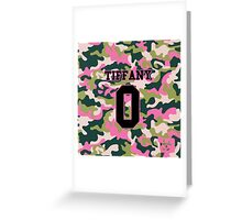 Girls' Generation (SNSD) TIFFANY 'PINK ARMY' Greeting Card