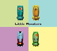 Little Monsters by Hiragraphic